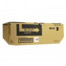 Тонер-картридж KYOCERA (TK-3160) ECOSYS P3045dn/P3050dn/P3055dn/P3060dn, ресурс 12500 стр., оригинальный, 1T02T90NL1