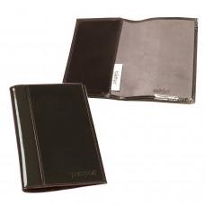 """Обложка для паспорта BEFLER """"Classic"""", натуральная кожа, тиснение """"Passport"""", коричневая, O.21.-1"""