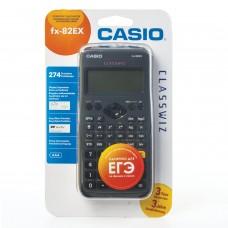 Калькулятор инженерный CASIO FX-82EX-S-ET-V (166х77 мм), 274 функции, батарея, сертифицирован для ЕГЭ, FX-82EX-S-EH-V