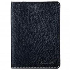 """Бумажник водителя FABULA """"Blackwood"""", натуральная кожа, отстрочка, 6 пластиковых карманов, черный, BV.57.CD"""