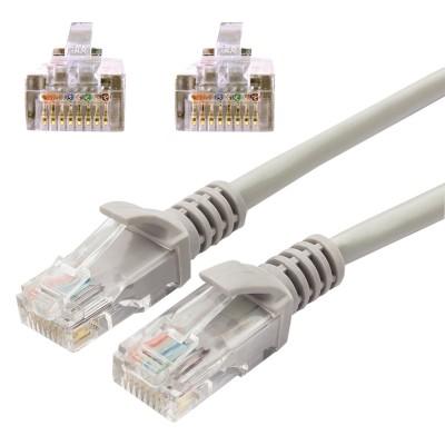 Кабель (патч-корд) UTP 5e категория, RJ-45, 5 м, CABLEXPERT, для подключения по локальной сети LAN, PP12-5M