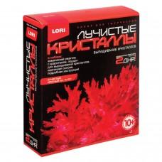 """Набор для изготовления лучистых кристаллов """"Красный кристалл"""", реагент, краситель, основа, LORI, Лк-001"""