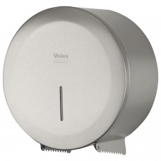 """Диспенсер для туалетной бумаги в рулонах VEIRO Prof (T1/T2) """"Jumbo STEEL"""", нержавеющая сталь, матовый, PR2783CS"""