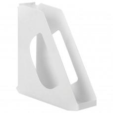 """Лоток вертикальный для бумаг ESSELTE """"VIVIDA"""", ширина 72 мм, белый, 623702"""