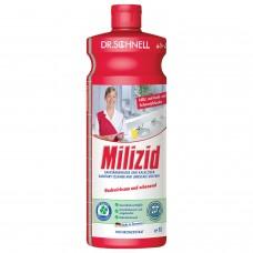 """Средство для уборки санитарных помещений 1 л, DR.SCHNELL """"Milizid"""" (""""Милицид""""), кислотное, 143387"""