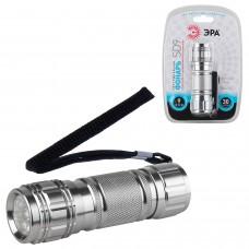 Фонарь светодиодный ЭРА SD9, 9 x LED, алюминиевый корпус, питание 3хААА (в комплект не входят)