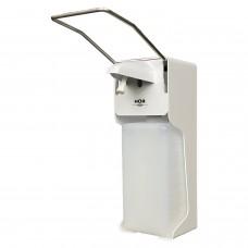 Диспенсер для дезинфицирующих средств HOR НАЛИВНОЙ, с локтевым приводом, белый, 1 л, D-004А, D004A
