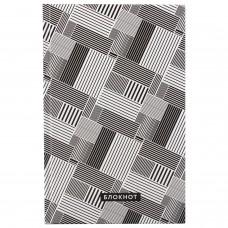"""Блокнот (135х206 мм) А5 STAFF, 80 л., твердый, клетка, """"Pattern"""", 111601"""