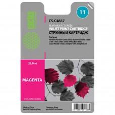 Картридж струйный CACTUS (CS-C4837A) для HP DesignJet 70/100/110/120, пурпурный, 29 мл