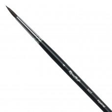 Кисть художественная ROUBLOFF (Рублев) белка, круглая, № 4, длинная ручка, ЖБ1-04,07Б