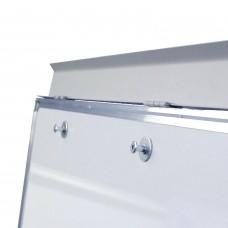 Доска-флипчарт магнитно-маркерная (70х100 см), держатели для бумаг, ГАРАНТИЯ 10 ЛЕТ, РОССИЯ, BRAUBERG, 236160