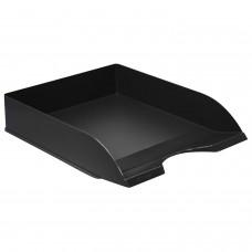 "Лоток горизонтальный для бумаг СТАММ ""Дельта"", А4 (315х250х60 мм), черный, ЛТ651"