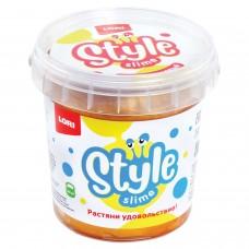 "Слайм Style Slime классический ""Золотой с ароматом банана"", 150 мл, LORI, Сл-006"