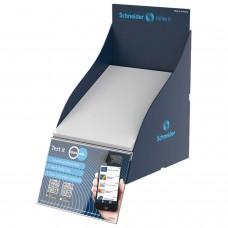 Блок для тестирования письма SCHNEIDER проклеенный, 17,5х15х0,5 см, пластиковый дисплей, 305020