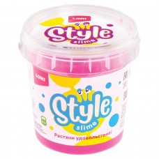 "Слайм Style Slime классический ""Розовый с ароматом вишни"", 150 мл, LORI, Сл-001"