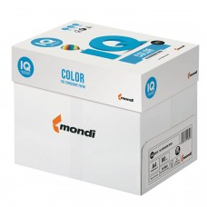 Бумага цветная IQ color, А4, 80 г/м2, 500 л., пастель, ванильная, BE66