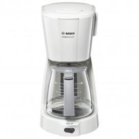 Кофеварка капельная BOSCH TKA3A031, 1100 Вт, объем 1,25 л, подогрев, белая