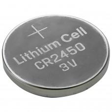Батарейка GP Lithium, CR2450, литиевая, 1 шт, в блистере, CR2450-2C1
