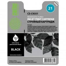 Картридж струйный CACTUS (CS-C9351C) для HP Deskjet 3920/3940/officeJet4315, черный, 20 мл