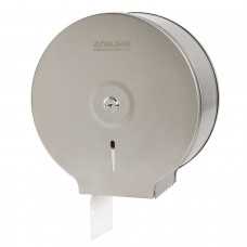Диспенсер для туалетной бумаги ЛАЙМА PROFESSIONAL ECONOMY (Система T2), малый, нержавеющая сталь, матовый, 605048