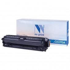 Картридж лазерный NV PRINT (NV-CE270A) для HP CP5525dn/CP5525n/M750dn/M750n, черный, ресурс 13500 страниц