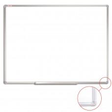 Доска магнитно-маркерная (90х120 см), алюминиевая рамка, ГАРАНТИЯ 10 ЛЕТ, STAFF, 235463