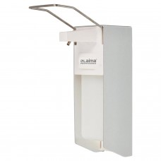 Диспенсер для жидкого мыла LAIMA PROFESSIONAL, НАЛИВНОЙ, с локтевым приводом, алюминий, 1 л, 605706