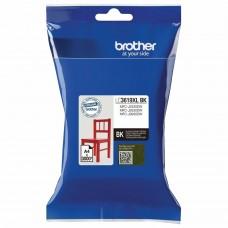 Картридж струйный BROTHER (LC3619XLBK) для MFC-J3530DW/J3930DW, черный, оригинальный, ресурс 3000 страниц