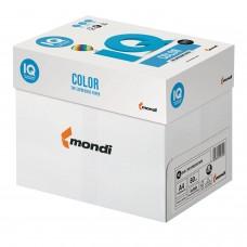 Бумага цветная IQ color, А4, 80 г/м2, 500 л., пастель, светло-голубая, BL29