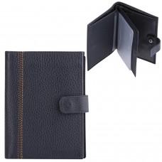 """Бумажник водителя FABULA """"Brooklyn"""", натуральная кожа, отстрочка, 6 пластиковых карманов, синий, BV.8.BR"""