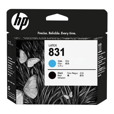 Головка печатающая для плоттера HP (CZ677A) HP Latex 310/330/360/370, №831, черный и голубой, оригинальная