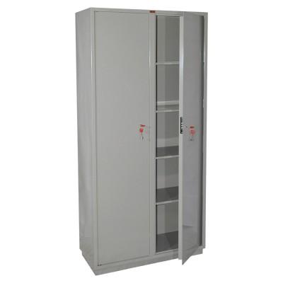 Шкаф металлический для документов КБС-10, (1850х880х390 мм; 90 кг), 2 отделения, сварной