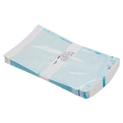 Пакет комбинированный самоклеящийся ВИНАР СТЕРИТ, комплект 100 шт., для ПАРОВОЙ/ГАЗОВОЙ стерилизации, 200х350 мм, 27