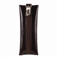 """Футляр для ключей BEFLER """"Classic"""", натуральная кожа, на молнии, 55x135 мм, коричневый, KL.8.-1"""