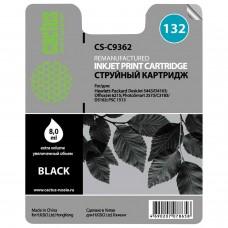 Картридж струйный CACTUS (CS-C9362) для HP Officejet 6313/6315/Photosmart C3183, черный, 8 мл
