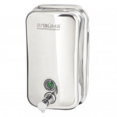 Диспенсер для жидкого мыла LAIMA PROFESSIONAL INOX (гарантия 3 года), 1 л, нержавеющая сталь, зеркальный, 605393