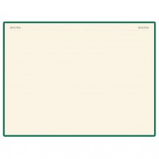 Блокнот А5 (142х214 мм), 100 л., твердая обложка, балакрон, на резинке, BRUNO VISCONTI, Зеленый, 3-101/03
