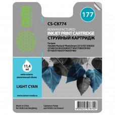 Картридж струйный CACTUS (CS-C8774) для HP Photosmart C7283/C8183, фото светло-голубой, 11,4 мл