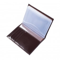"""Бумажник водителя BEFLER """"Classic"""", натуральная кожа, тиснение, 6 пластиковых карманов, коричневый, BV.20.-1"""
