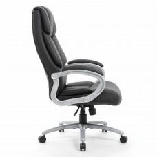 """Кресло офисное BRABIX PREMIUM """"Blocks HD-008"""", НАГРУЗКА до 200 кг, экокожа, серое, 531944"""