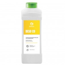 Антисептик кожный дезинфицирующий спиртосодержащий (70%) 1 л GRASS DESO C9, готовый раствор, 550024