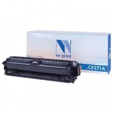 Картридж лазерный NV PRINT (NV-CE271A) для HP CP5525dn/CP5525n/M750dn/M750n, голубой, ресурс 15000 страниц