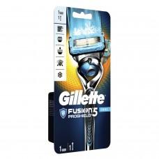 """Бритва GILLETTE (Жиллет) """"Fusion ProShield Chill"""" с 1 сменной кассетой, для мужчин, 50016200"""