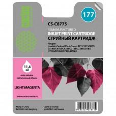 Картридж струйный CACTUS (CS-C8775) для HP Photosmart C7283/C8183, фото светло-пурпурный, 11,4 мл