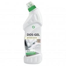 Средство для уборки санитарных помещений 750 мл GRASS DOS-GEL, щелочное, концентрат, гель, 219275