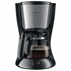 Кофеварка капельная PHILIPS HD7457/20, 1,2 л, 1000 Вт, подогрев, серебристо-черная