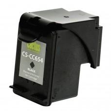 Картридж струйный CACTUS (CS-CC654) для HP Officejet J4580/4640/4680, черный, ресурс 700 стр.