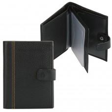 """Бумажник водителя FABULA """"Brooklyn"""", натуральная кожа, отстрочка, 6 пластиковых карманов, черный, BV.8.BR"""