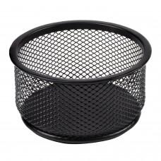 """Подставка-органайзер BRAUBERG """"Germanium"""", металлическая, круглое основание, 50х95 мм, черная, 223120"""