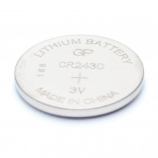 Батарейка GP Lithium, CR2430, литиевая, 1 шт., в блистере, CR2430-8C1